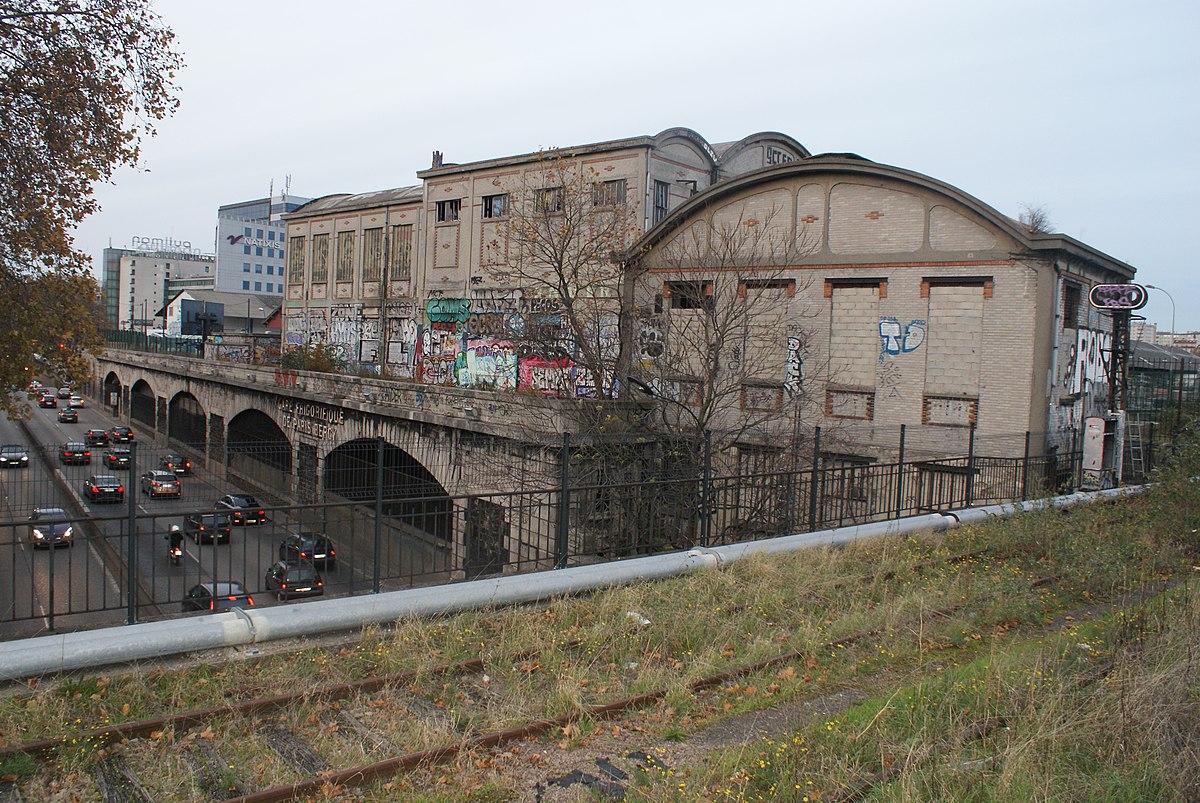 Gare de la rap e wikip dia for Garage de la gare bretigny