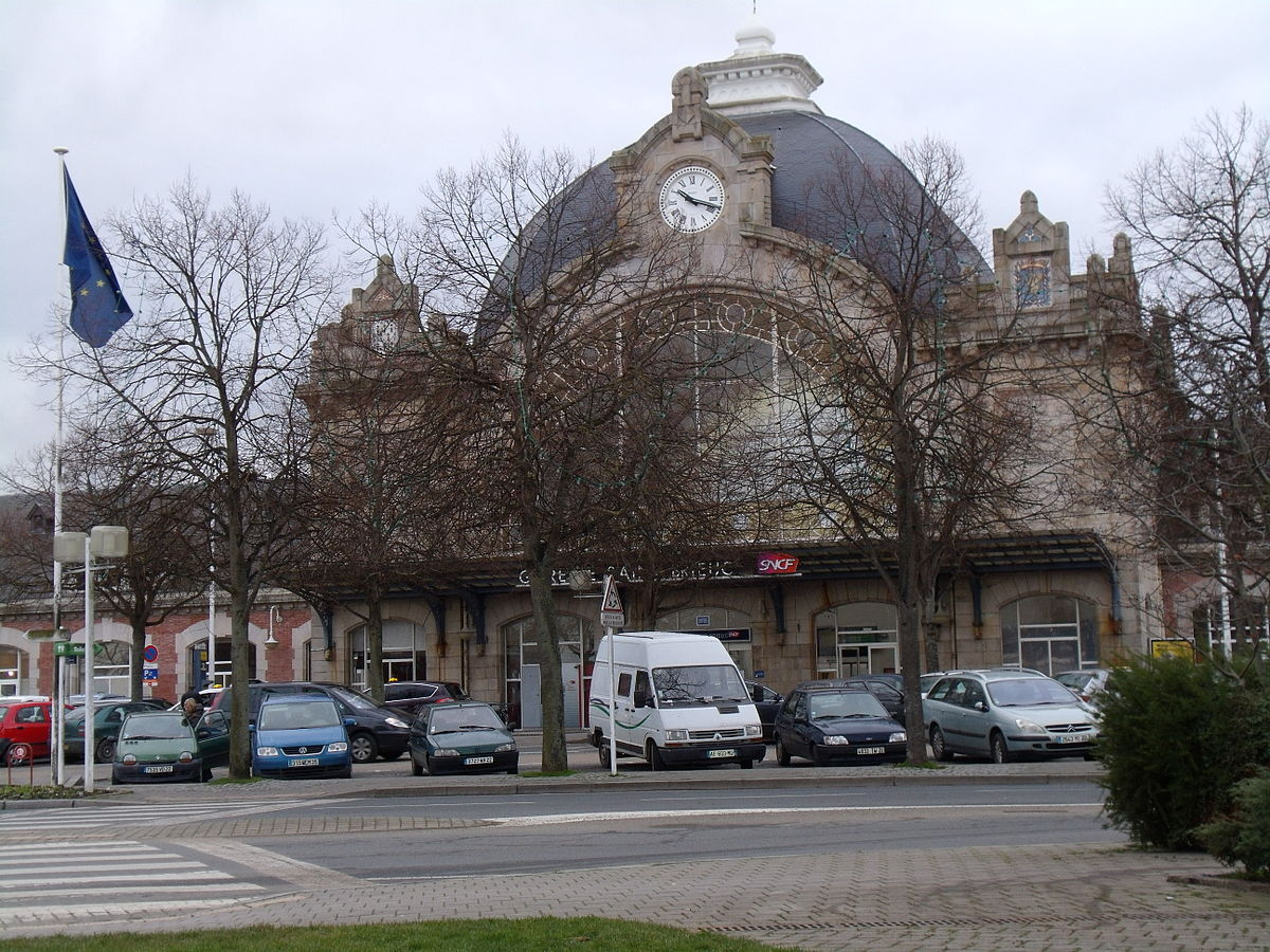 gare de saint brieuc wikip dia. Black Bedroom Furniture Sets. Home Design Ideas
