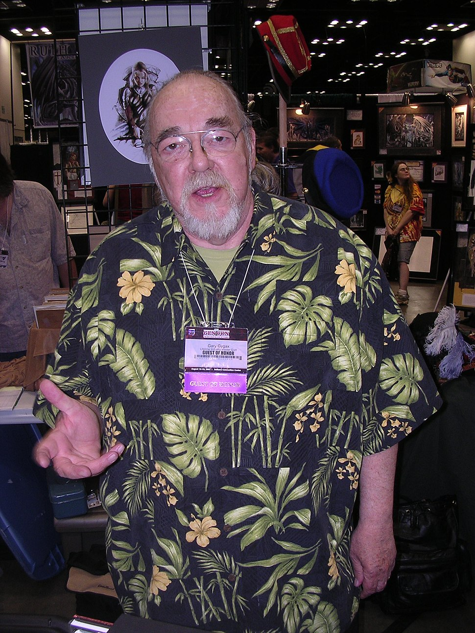Gygax at Gen Con Indy 2007