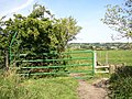 Gate, Bullace Trees Lane, Roberttown, Liversedge - geograph.org.uk - 542607.jpg
