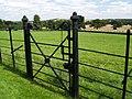 Gate at Brodsworth Hall. - geograph.org.uk - 507838.jpg