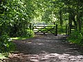 Gate at the end of the Sett Valley trail - geograph.org.uk - 1343297.jpg