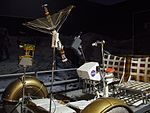 Gateway to space 2016, Budapest, lunar rover model 2.jpg