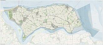Noord-Beveland - Image: Gem Noord Beveland Open Topo