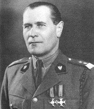 War Cross (Norway) - Gen. Zygmunt Bohusz-Szyszko