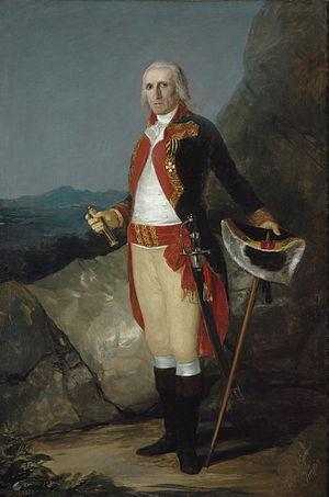 José de Urrutia y de las Casas - Portrait of General Urrutia (1798), by Francisco de Goya. Museo del Prado