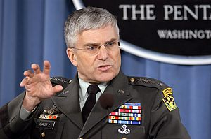 Rescue of Giuliana Sgrena - General George Casey, commander of US forces in Iraq.