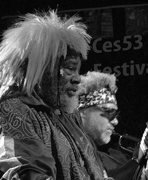 George Clinton (musician) - George Clinton performing in The Netherlands.