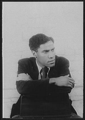 George Lamming - Photo of George Lamming by Carl Van Vechten, 1955