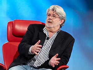 300px George Lucas Star Wars Creator George Lucas Engaged