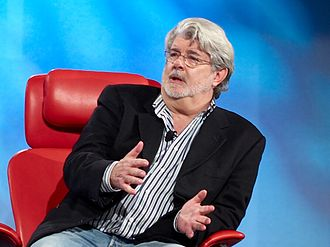 "Star Wars (film) - George Lucas (pictured in 2007), the director and writer of Star Wars. He was unsuccessful in pitching his idea to several major Hollywood studios because it was ""a little strange"". Eventually, Lucas presented the treatment to 20th Century Fox, and the film was approved."