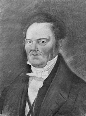 George Evans (explorer) - Image: George William Evans Explorer, 1780 1852, NLA