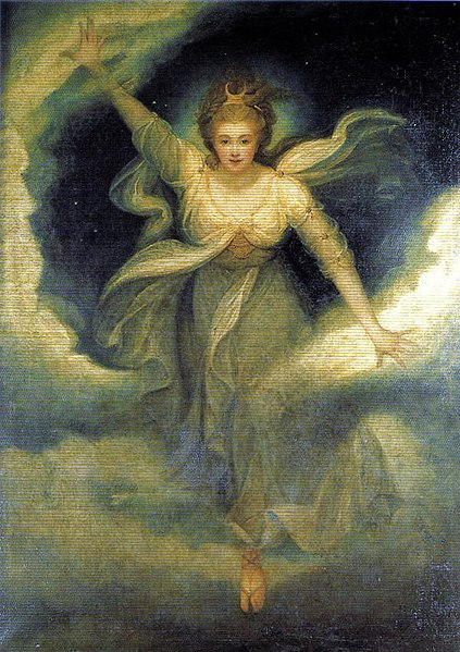 Georgiana, aged 25, as the goddess Diana. 1782