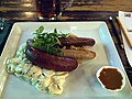 German-style sausages at restaurant Rymy-Eetu.jpg