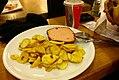"German ""fast food""! Potato and ham (or something like) - Stuttgart - Germany (8917181039).jpg"