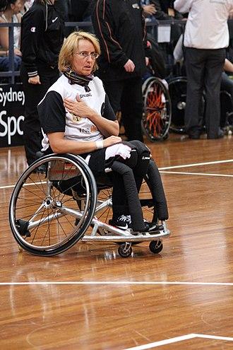 Britt Dillmann - Image: Germany women's national wheelchair basketball team 6880 11