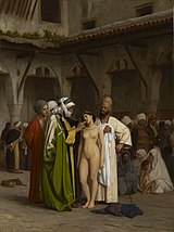 The Slave Market (c. 1884), painting by Jean-Leon Gerome.