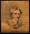 Gian Francesco Barbieri, il Guercino; portrait. Drawing, c. Wellcome V0009270EL.jpg