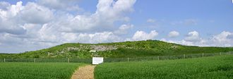 Breamore - Giants Grave long barrow