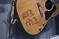 Gibson 70th Anniversary John Lennon J-160E 'Museum' (finish) guitar - sign details - Rock and Roll Hall of Fame (2014-12-30 13.54.45 by Sam Howzit).jpg