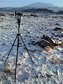 Gigapan Setup For Hekla (3048595924).jpg