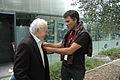 Gilles Perret et Léon Landini Mouans-Sartoux octobre 2013 photo1.JPG