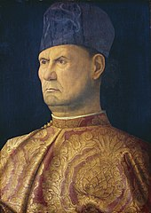 Portrait of a Condottiero (Bellini)