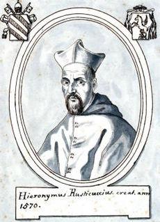 Girolamo Rusticucci Italian cardinal