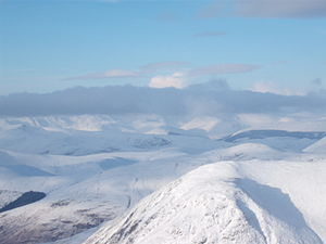 Winter of 2009–10 in Great Britain and Ireland - Glen Coe, Scotland, on 27 December
