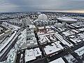 Globen, Stockholm from Slakthusområdet (16534535311).jpg