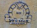 Glockengießerzeichen auf e-Glocke 1951 Ev.-ref. Kirche Wölfersheim.JPG