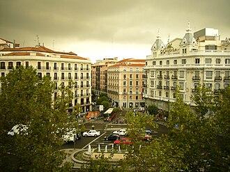 Glorieta de Bilbao - Image: Glorieta de Bilbao en Chamberí