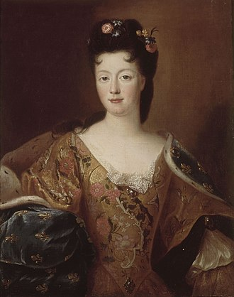 Élisabeth Charlotte d'Orléans - Image: Gobert, workshop of Élisabeth Charlotte d'Orléans Versailles, MV3690
