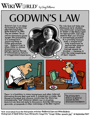 "WikiWorld comic based on the articles ""Go..."
