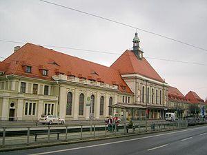Görlitz–Dresden railway - Görlitz station