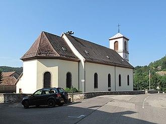 Goldbach-Altenbach - Goldbach-Altenbach, church: l'église Saint-Laurent