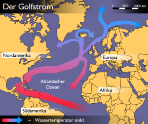 Portugal Current - North Atlantic currents