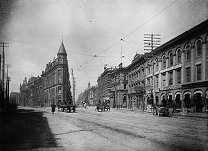 Gooderham Building - The Gooderham Building in the 1890s, by F. W. Micklethwaite