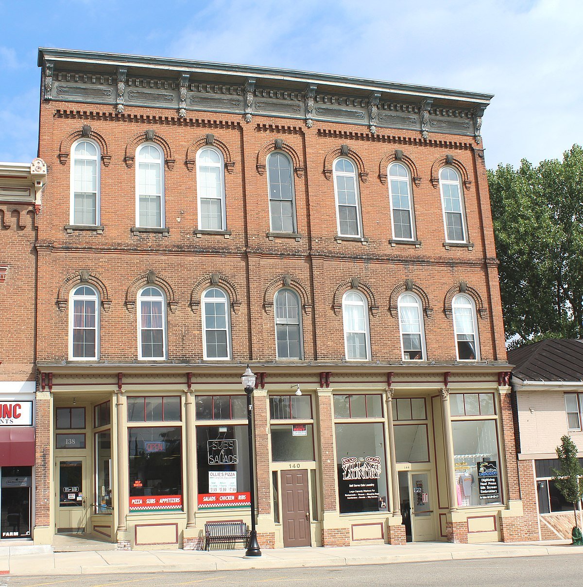 76 Best Images About Historic Downtown Storefronts On: Goodyear Block
