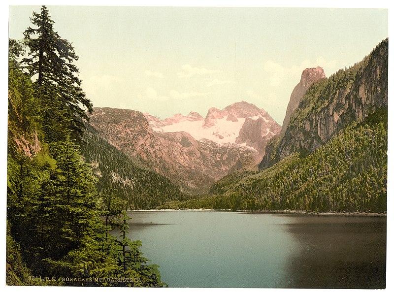File:Gosausee mit Dachstein um 1900.jpeg
