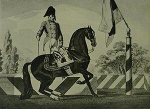 Maximilian Weyrother - Gottlieb von Weyrother and Conversano Animosa (born at the Court Stud of Koptschan)