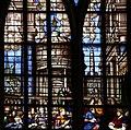 Gouda, st. janskerk, vetrata 05 salomone e la regina di saba di Wouter Pietersz. Crabeth (I), 1561, 2 balconata e fumo.jpg