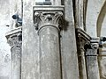 Gournay-en-Bray (76), collégiale St-Hildevert, croisillon sud, chapiteaux du doubleau vers la croisée, côté ouest.jpg