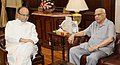Governor of Chhattisgarh Balram Das Tandon with Arun Jaitley.jpg