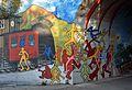 Graffiti Unterfahrung Kefergasse, Vienna 06.jpg