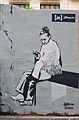 Graffiti de Blanquita al carrer de la Sabateria dels Xiquets, València.JPG