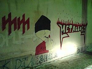 Graffiti in Tehran - Image: Graffiti in Teheran