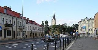 Grajewo Place in Podlaskie Voivodeship, Poland