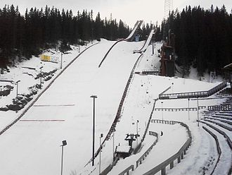 Trondheim bid for the 2018 Winter Olympics - Granåsen was proposed as the venue for Nordic skiing and biathlon