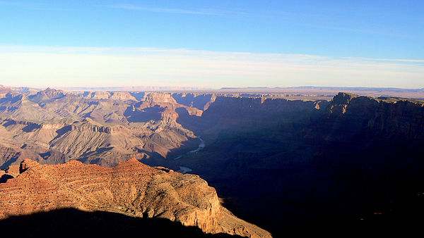 English: Grand Canyon at Sunrise in November